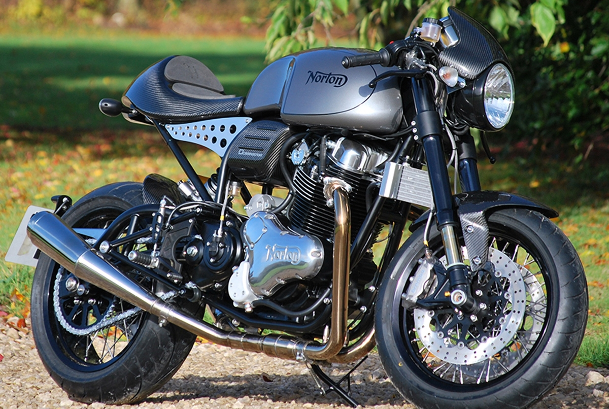 Norton Dominator headed to our shores