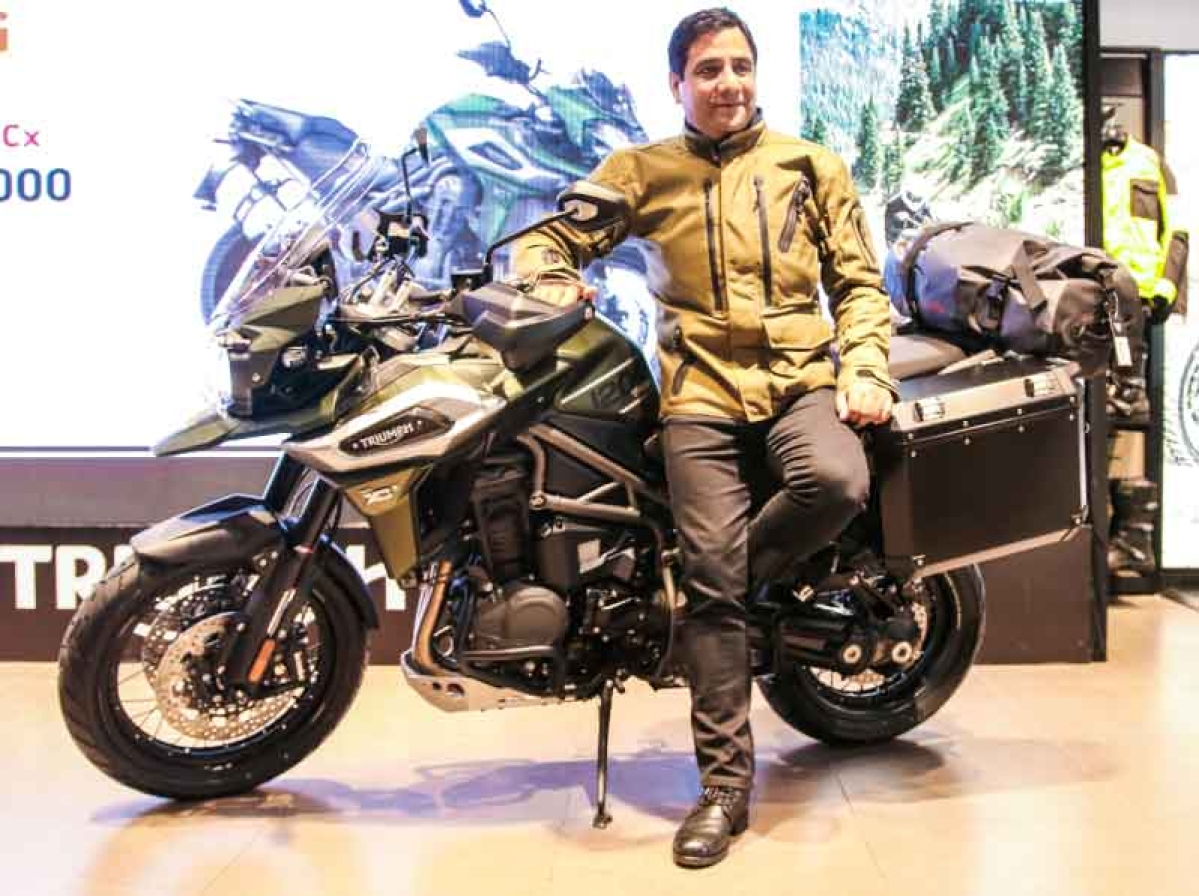 Triumph has launched the latest generation Tiger 1200 at Rs. 17 lakh