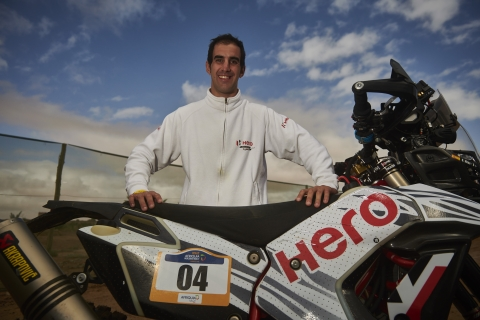 Oriol Mena and J Rod to lead Hero Motosports Merzouga Rally 2019 foray