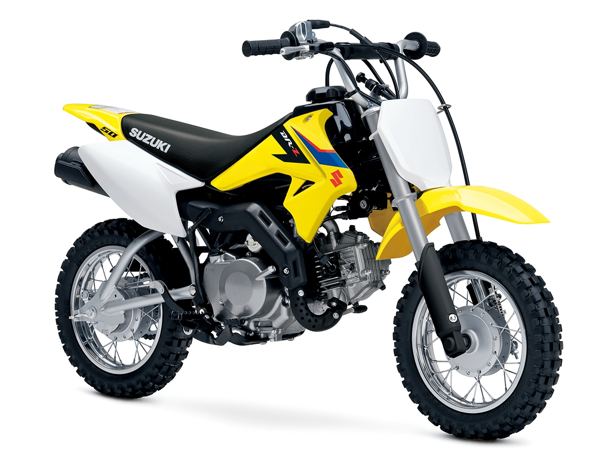 Suzuki DR-Z 50 mini dirt bike launched in India at Rs 2.55 lakh