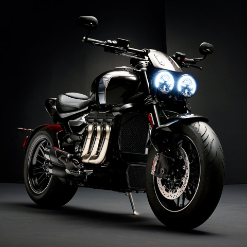 "Triumph reveals the production ready Rocket 3 TFC ""Concept"""