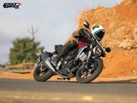 Honda CB300R - first ride review