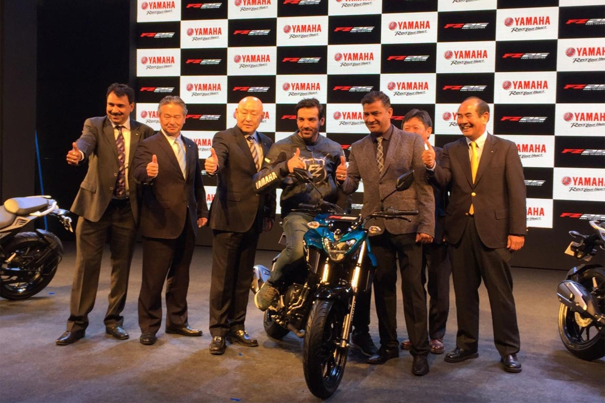 Yamaha India launches the FZ25, priced at Rs.1.19 lakh