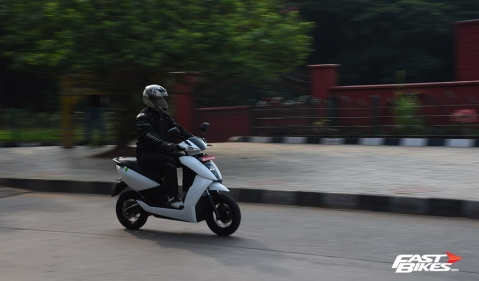 First ride review – Ather 450 electric scooter