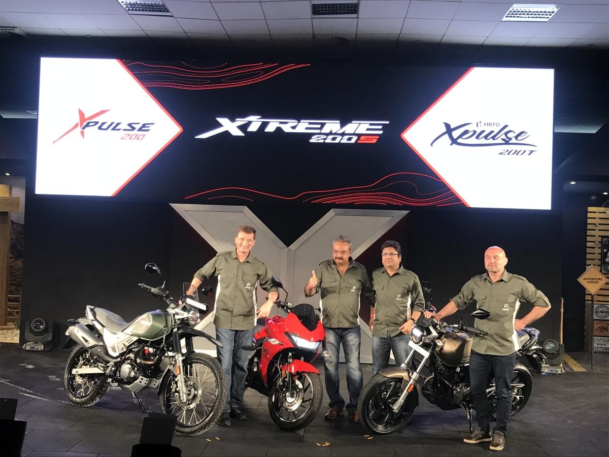 Hero XPulse 200 range and Xtreme 200S launched