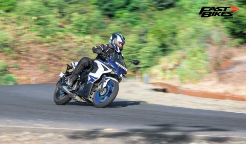 Pulsar Mania Thrill of Riding part 5: Art of cornering