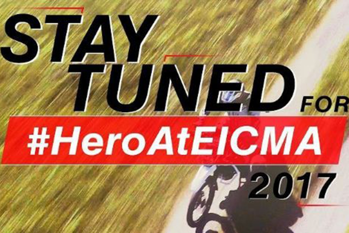 Hero MotoCorp to unveil an adventure motorcycle at EICMA