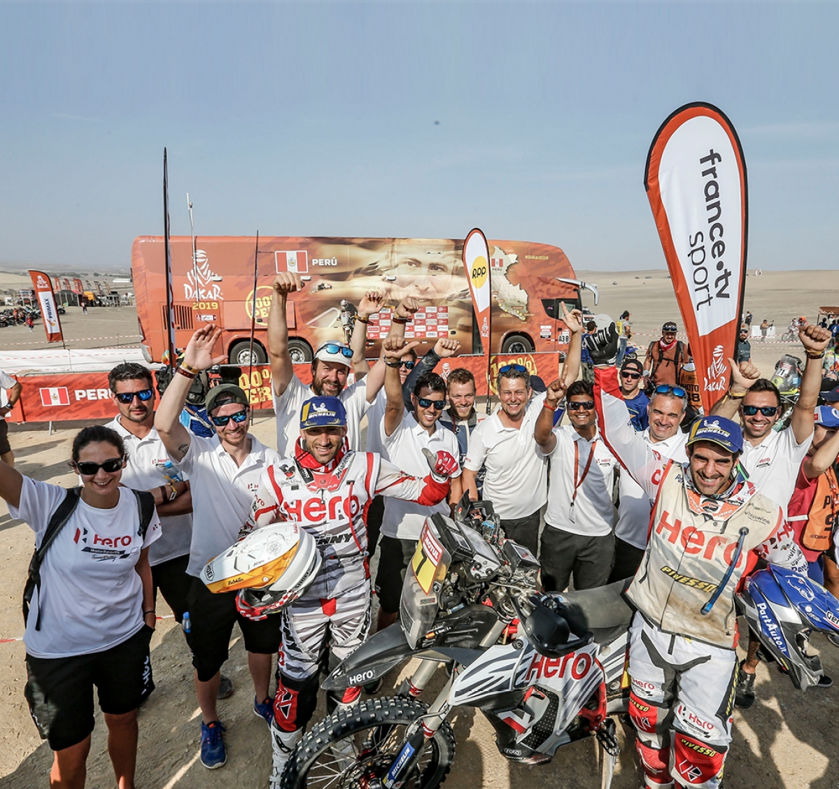 Dakar 2019: Hero MotoSports bags a top 10 position for the second time