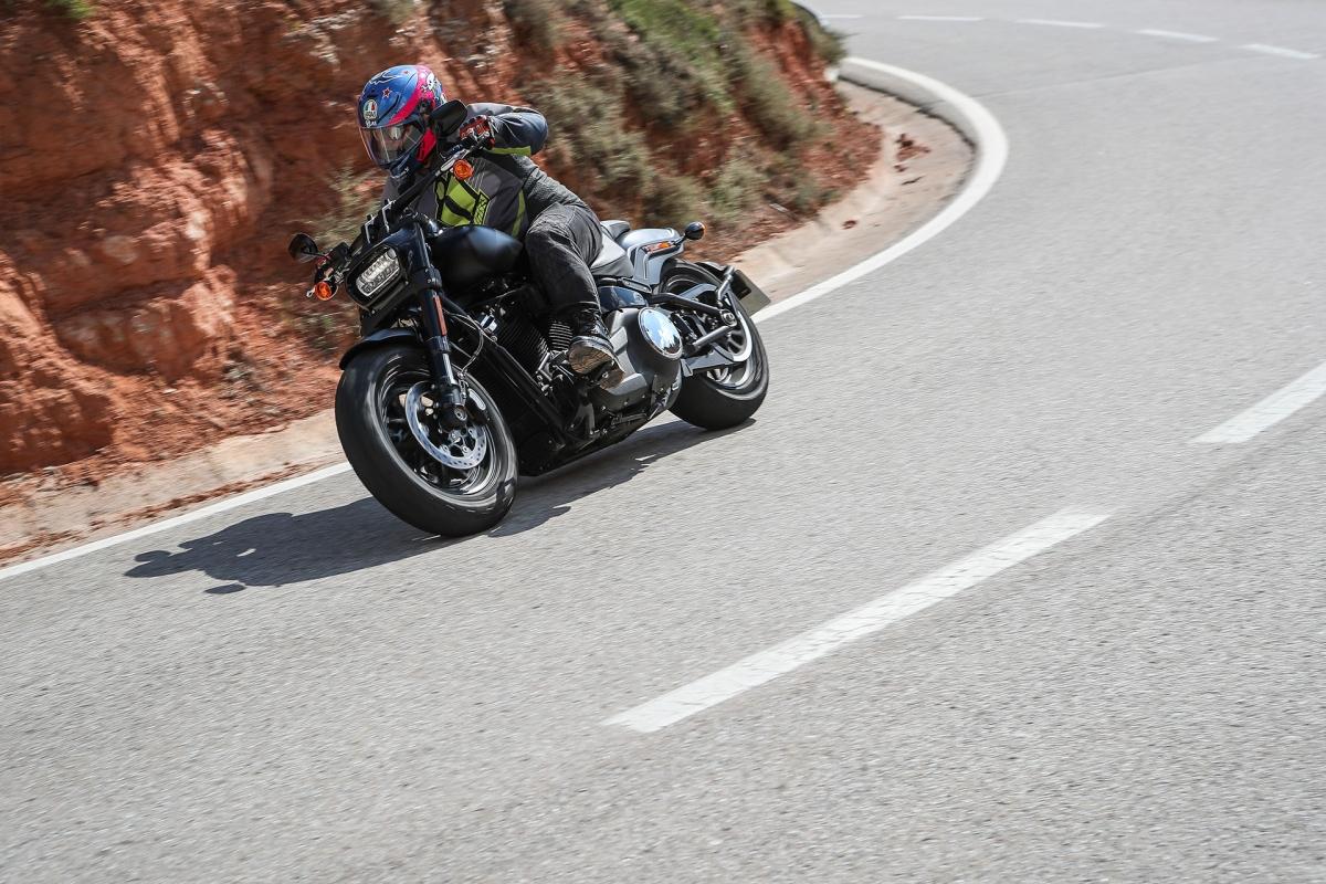 MY18 Harley-Davidson Softails ridden