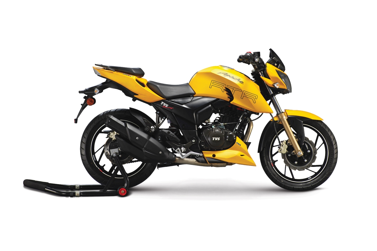 TVS rolls out the Apache RTR 200 with Electronic Fuel Injection (EFI)