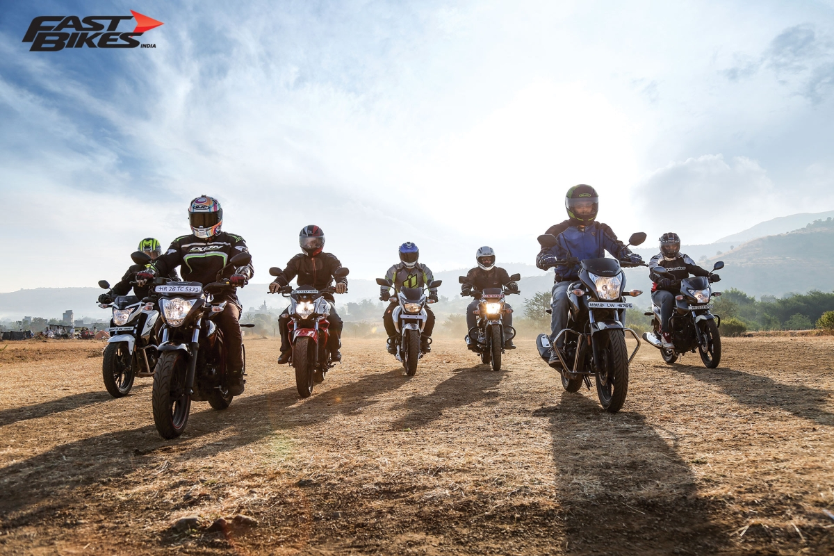 Sharp Seven: 150cc motorcycle shootout