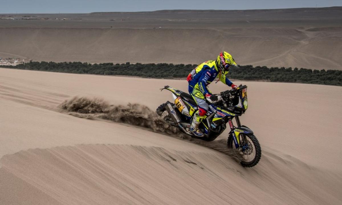 Dakar 2019: Sherco TVS rider Michael Metge wins stage 9