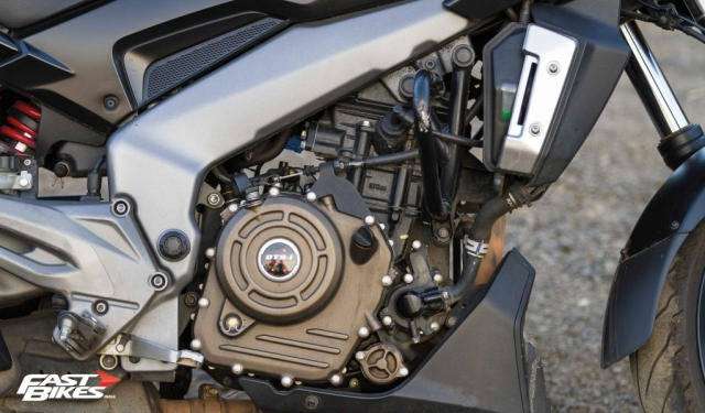 KTM's 373cc motor in a friendlier state of tune