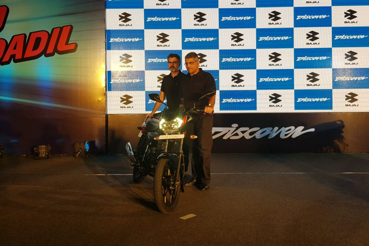Bajaj launches new Discover 110 and 125