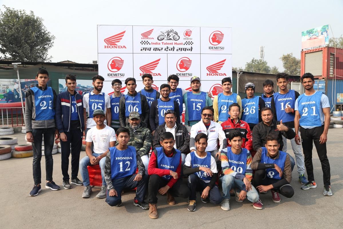 Idemitsu Honda India Talent Hunt reaches Delhi NCR