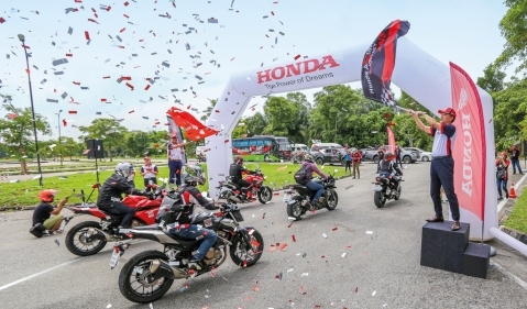 Honda Asian Journey 2018:Experiencing big bikes and the Malaysian GP