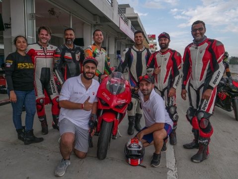 Ducati concludes second round of DRE Individual Racetrack Training sessions