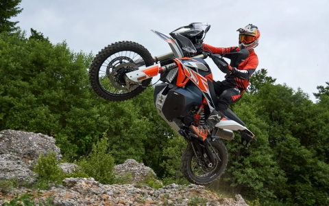 KTM uncovers the 790 Adventure R Rally