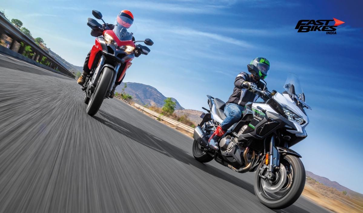 Tour De Sport: Multistrada 950 vs Versys 1000