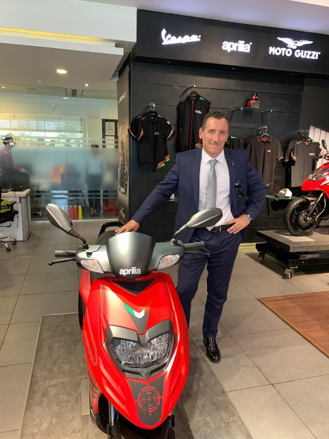 """Our philosophy has always been not to run for volumes or big sales"" says Diego Graffi on Piaggio in India"