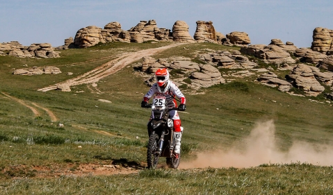 Silkway Rally Day 5: Hero MotoSports Team Rally score second  podium
