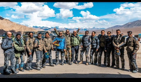 True North: The motorcycle expedition to Daulat Beg Oldie