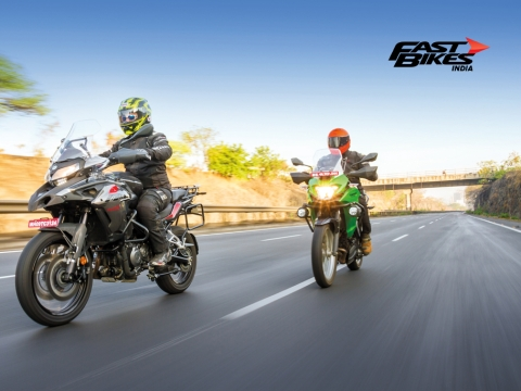 Double Trouble - TRK 502 vs Versys-X 300