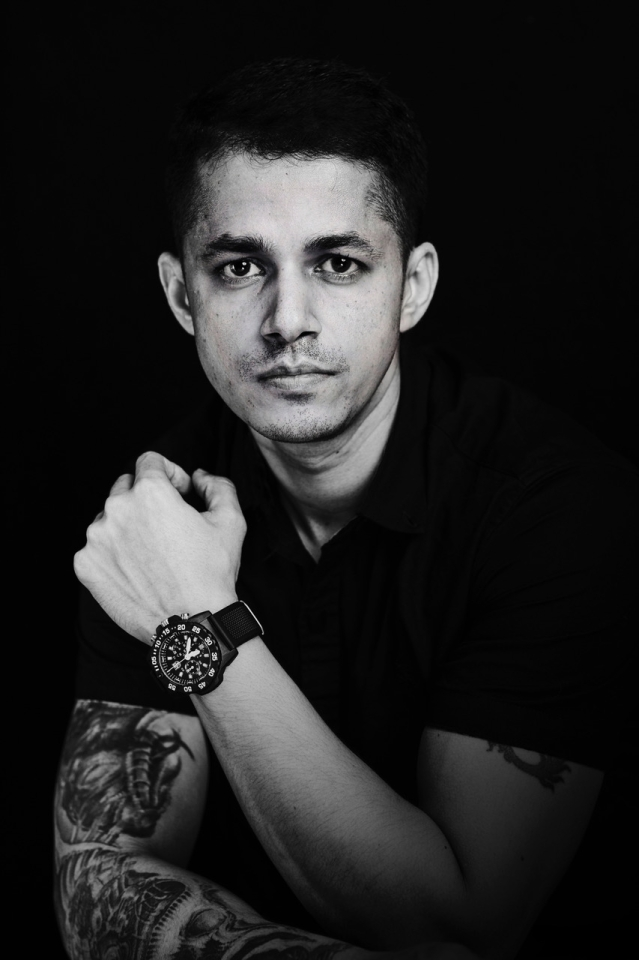 Ashish Raorane is the new face of Luminox in India