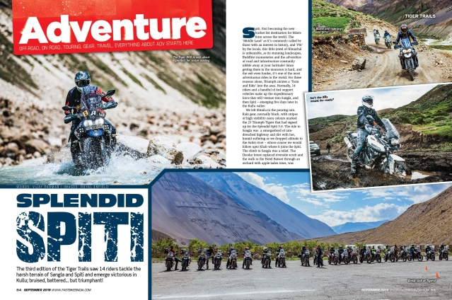 What's inside the September issue of Fast Bikes India magazine?