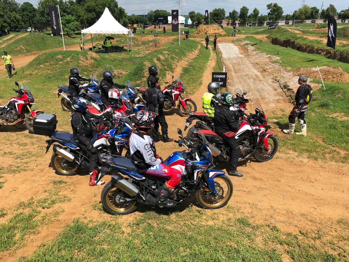 Honda kickstarts the first 'Africa Twin True Adventure Camp' in Delhi NCR