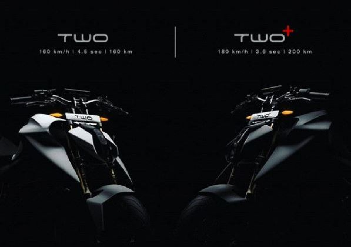 Emflux teases Two and Two+ electric motorcycles