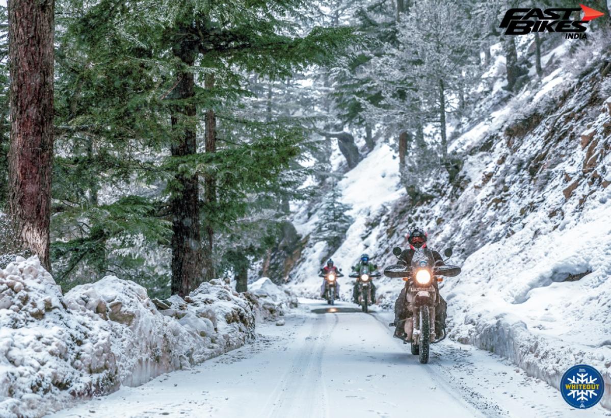 Royal Enfield Himalayan in Spiti: Whiteout 2.0