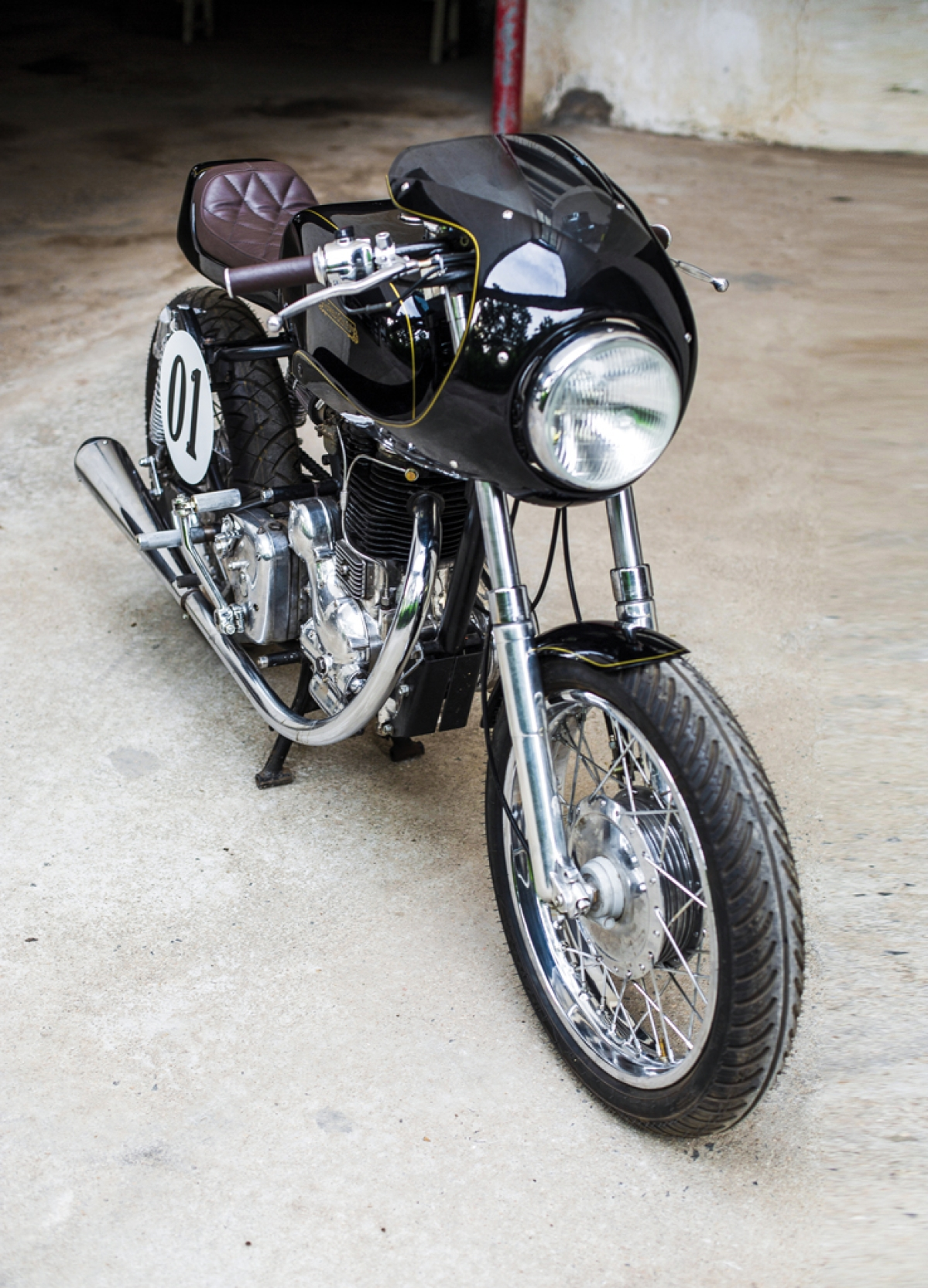 Royal Enfield Bullet goes to the cafe: A custom build worth a second look