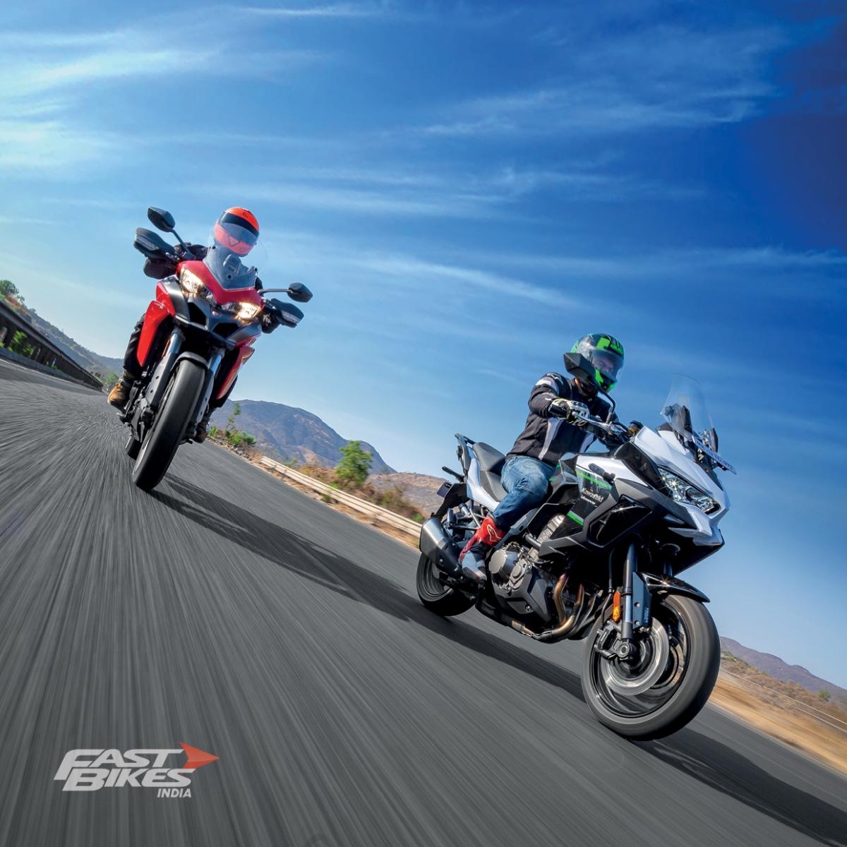 Tourer shootout – Ducati Multistrada 950 vs Kawasaki Versys 1000