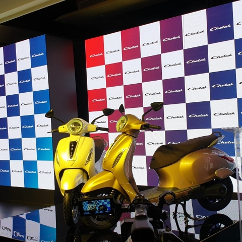 Bajaj resurrects the iconic Chetak in electric format