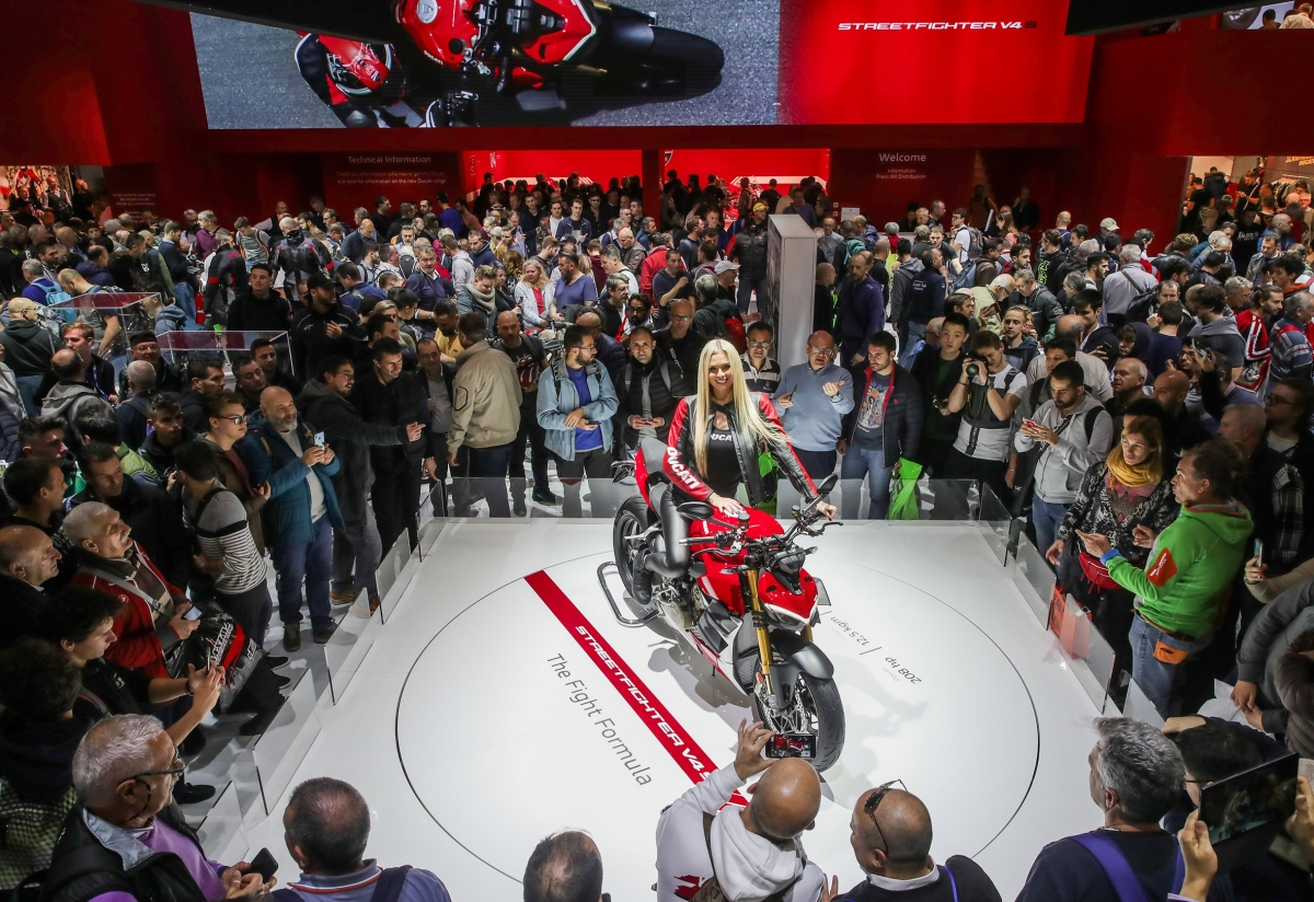 DucatiStreetfighter V4 crowned the 'Most Beautiful Motorcycle' at EICMA 2019
