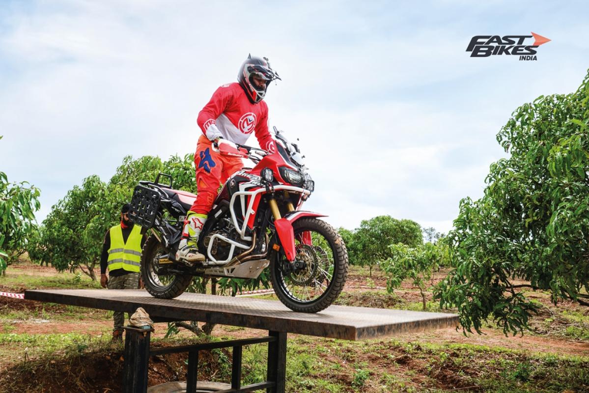 Honda Africa Twin True Adventure Camp