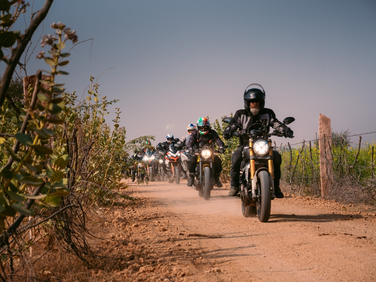 Ducati India announces 2020's first Dream Tour: The Royal Rajasthan: Chapter 2