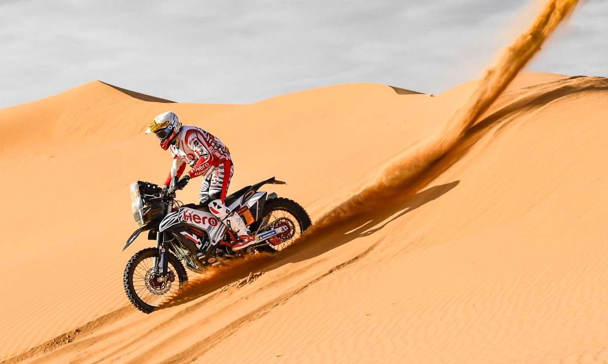 Dakar 2020 | Stage six | 3rd top ten finish for Hero MotoSport's Paulo Goncalves