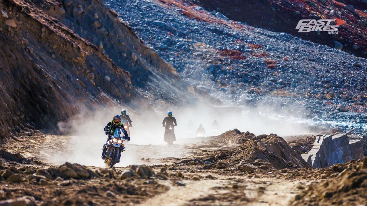 Triumph Tiger Trails: Zanskar Valley