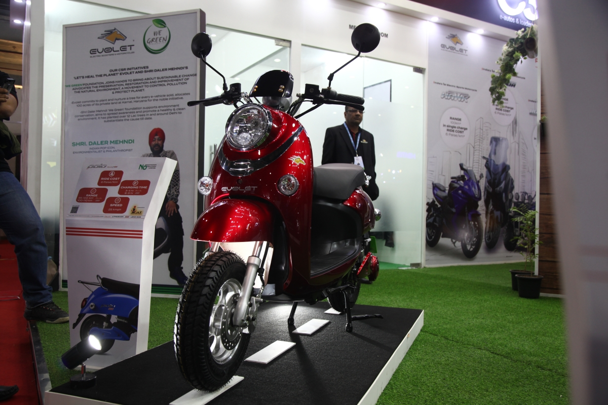 Auto Expo 2020: Evolet India unveils a line of e-scooter and EV's