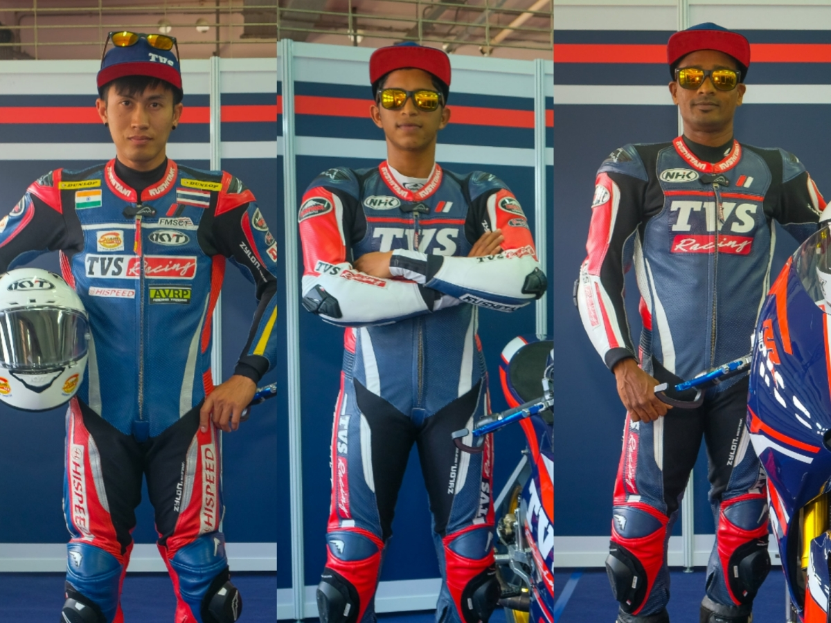 TVS Racing announces its three-rider squad for ARRC 2020 debut