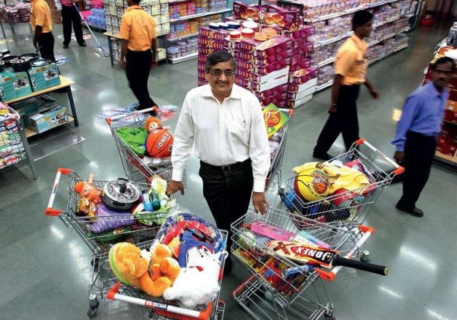 Kishore Biyani's surprise plan is to buy more distribution.
