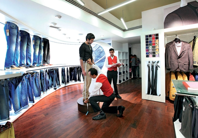 MADE TO MEASURE: Arvind aims to provide end-to-end services under one roof.