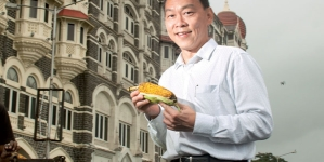 Toh Giam Ming, general manager India, Singapore Airlines, spices up his tours with food and films