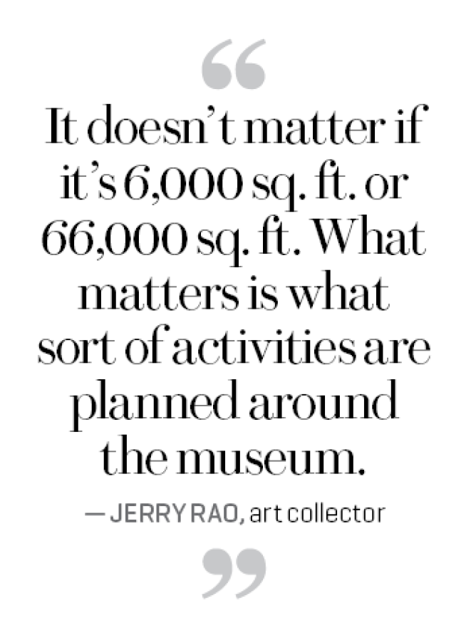 The rise of the private museum