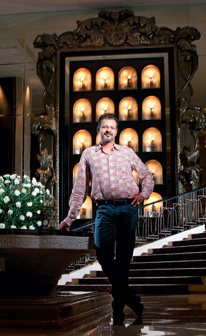 Atul Ruia, managing director of High Street Phoenix—one of Mumbai's first malls—in Lower Parel