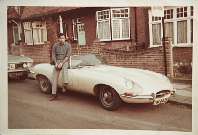 Mansha, who loves fast cars, bought his first during his student days in London in the 1960s—a canary yellow Jaguar.