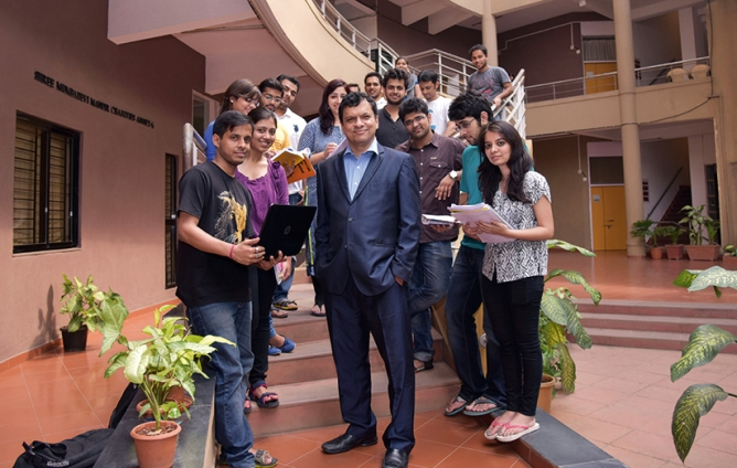 """""""Throw in projects of the corporate world and make them a part of the curricula and you will remain relevant."""" —Ranjan Banerjee, dean, SPJIMR."""