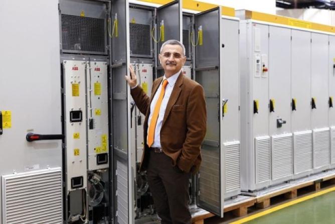 Bazmi R. Hussain: MD, ABB India